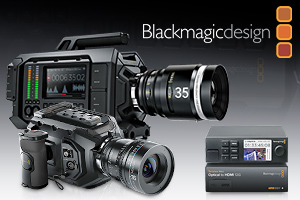 Blackmagic Design - new product line-up for 2015