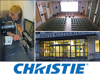 Christie CP2215 supplied to Jogeva culture centre