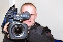Studio AVE - the first in Latvia Panasonic DVCPRO HD camera