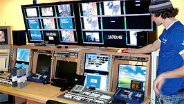 LNT digital playout system