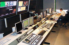 LNK automated playout studio