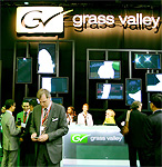 Hannu Pro IBC 2009 - Grass Valley stand