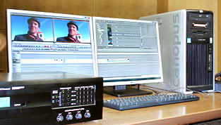 Grass Valley Canopus editing system