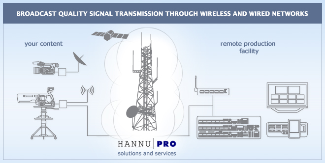 Wireless content transmission services